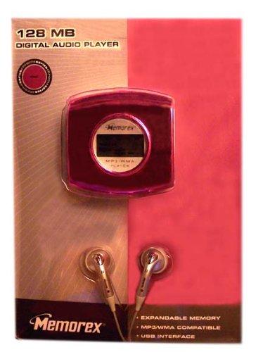 Memorex MP3 Digital Audio Player 128MB with Expandable SD MMC Card Slot