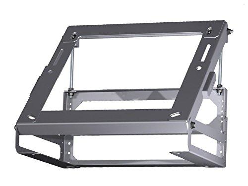 Bosch DHZ1241 Installationszubehör / Adapter für Inselessen / Edelstahl / für Dachschräge von 20°- 45° / zur Montage nach vorne oder hinten