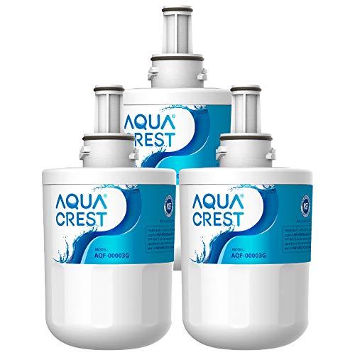 AQUACREST DA29-00003G NSF 53&42 Filtros de agua para frigorífico, Compatible con Samsung Aqua Pure PLUS DA29-00003G DA29-00003B HAFIN2/EXP DA29-00003A DA97-06317A HAFCU1/XAA (3)
