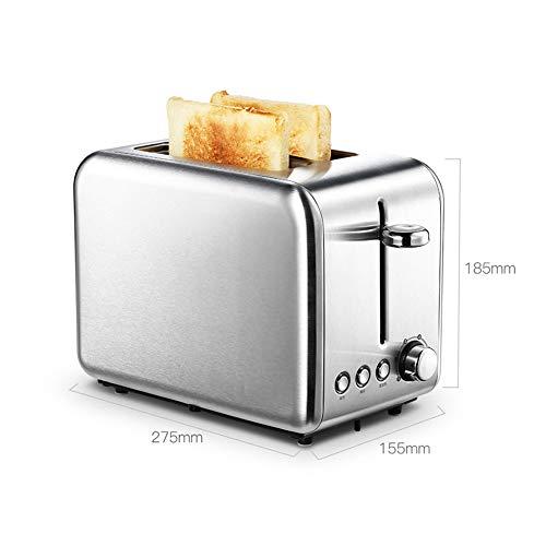 YHX Sandwich Tostador, con Control De Temperatura, 4 Rebanadas De Sándwich Extra Grande De Prensa De La Familia, De Acero Inoxidable