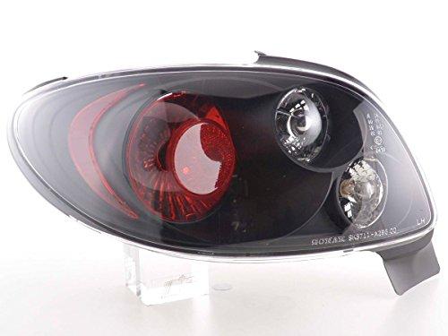 FK Automotive FK achterlichten achterlichten achterlichten achteruitrijlichten set zwart FKRL78-4