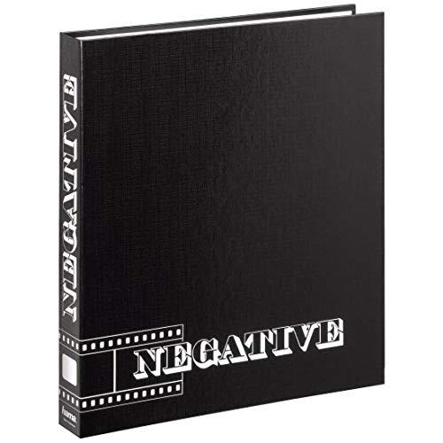 Hama 9003 Accessori foto, Raccoglitore per negativi, 1 foglia, colore: Nero, grigio
