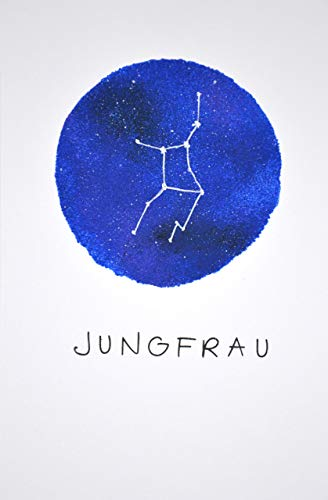 Glückwunschkarte Sternbild Jungfrau