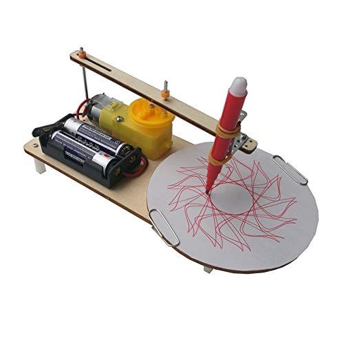 juler Stem Toys Trazador de Dos velocidades Tecnología para Estudiantes de Bricolaje Pequeña producción Pequeño invento Equipo de Laboratorio científico,Trazador,Un tamaño