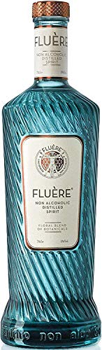 FLUÈRE - Alternativa de Gin Libre de Alcohol, Destilado Floral sin Alcohol, 700 ml