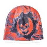 Cappello invernale da uomo con motivo a teschio Cappello con teschio caldo Cappello a cuffia Cappello da sci con fondo spesso da donna Unisex Hip Hop Cool Bones-DH108WE