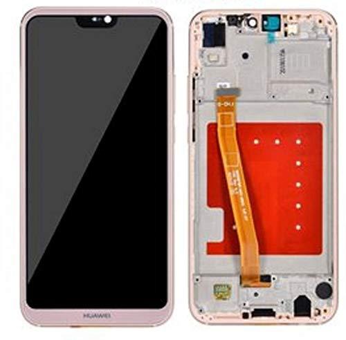 SPES LCD-display voor Huawei P20 Lite touchscreen, beeldscherm/frame/wekgereedschap, roze