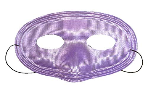 Lot de 3 masques pour les yeux d'adulte violet - Party /Fancy Dress /Balls (HW180)
