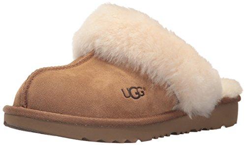 UGG Kids' Cozy II Slipper, Chestnut, 5 M US Big Kid