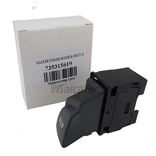 Power Windows Kit 735315619 6554.T3 interruptores elevalunas eléctricos para Peugeot Boxer I FL 2002-2006 apto para Citroen Jumper Et FL (2002-2006)