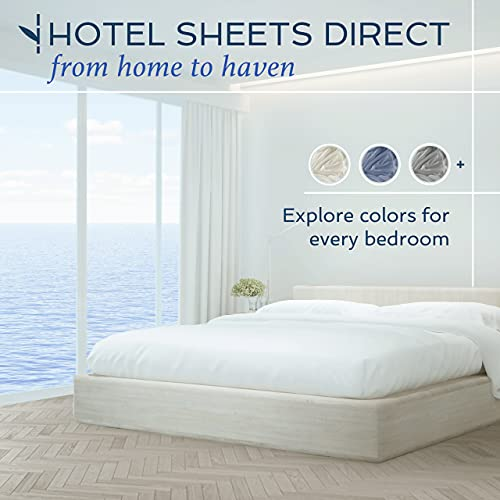Hotel Sheets Direct 100% Bamboo 4 Piece Bed Sheet Set