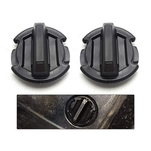 BUNKER INDUST 2 Pcs Twist Floor Drain Plug Trap Seal for 2014/2015/2016/2017/2018/2019 Polaris RZR XP 1000 900 XP 4 Turbo General 8414694