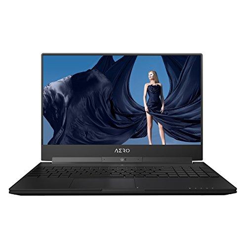 GIGABYTE Aero 15X v8-BK4 15in Ultra Slim Gaming Laptop 144Hz IPS Anti-Glare FHD Display, i7-8750H, GeForce GTX 1070, 16G RAM, 512GB PCIE SSD, Metal Chassis, RGB Keys (Renewed)