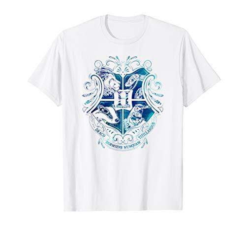 Harry Potter Hogwarts Water Element Crest T-Shirt