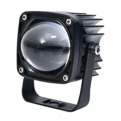 Luces de trabajo Luz LED cuadrada automotriz Luz de conducción de trabajo LED cuadrada impermeable de 2 pulgadas Luces antiniebla con soporte para reflector Coche Camión Motocicleta todoterreno