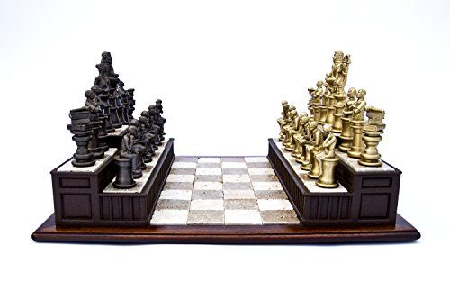 Legal Law Chess Set Gift for Lawyers Attorney or Judge