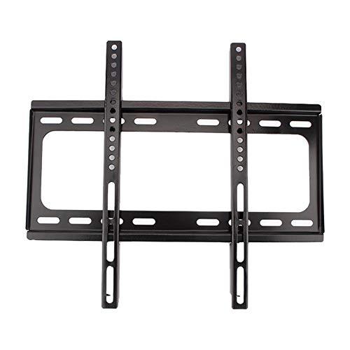 Wakects - Soporte de pared para TV de 26 a 55 pulgadas, compatible con soportes de pared de TV inferiores a 30 kg, soporte de pared LCD LED plasma TV, color negro