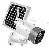 [2020最新型 完全無線・ソーラーパネル付き ・一年安心保証 ] QiyuanLS 屋外 防犯カメラ ソーラー、WiFi バッテリー 監視カメラ、6800mAh大容量バッテリー、技適認証取得済 WiFi強化、IP65 防水 ソーラー バッテリー式監視カメラ 200万画素 WIFI/ワイヤレス ネットワークカメラ、夜間監視カメラ、150°超広角 ソーラーパネル充電可能 長時間待機 、自動上書き録画 、暗視抜群 PIR動体検知 音声双方向 スマホ遠隔操作 複数台視聴 アプリ警報通知 屋内 監視カメラ 見守りカメラ 電源不要 USB充電 2.4G対応 Micro SDカード付属しない 玄関 留守番 ペットカメラ ワイヤレス 家庭用防犯カメラ
