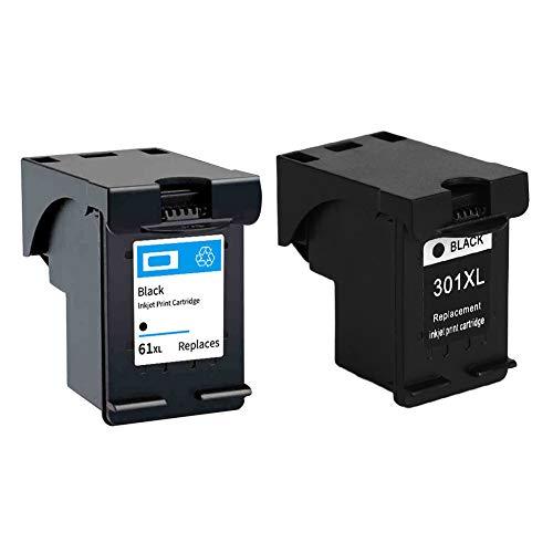 Compatibele zwarte inkt met hoge capaciteit, cartridges, personenvervanging, compatibel met HP printers voor HP301XLBK