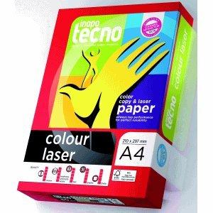 Inapa Kopierpapier tecno colour laser A4 120g/qm weiß VE=250 Blatt