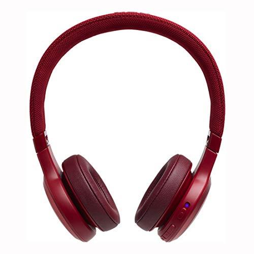 JBL LIVE 400BT kabellose On-Ear Kopfhörer in Weiß – Bluetooth Ohrhörer mit bis zu 24 Stunden Laufzeit & Alexa-Integration – Musik hören und telefonieren unterwegs