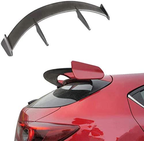 NB-LY Carbon Heckscheibe Spoiler passt für Mazda 3 Axela Schrägheck 4Door 2014-2019 Window Spoiler (Carbon), FRP