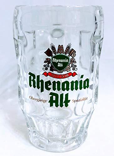 Rhenania Alt Glas 0,25l / Bierkrug/Bierseidel/Bierkrüge/Biergläser/Bier/Gastro/Bar/Sammler/Sammel / 6er Set