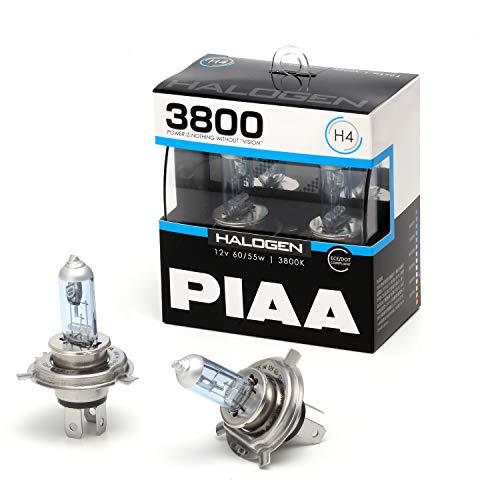 PIAA ヘッドライト・フォグランプ用 ハロゲン H4 3800K 車検対応 2個入 12V 60/55W ECE規格準拠 HS704