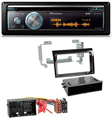 caraudio24 Pioneer DEH-X8700DAB MP3 DAB USB CD Bluetooth Autoradio für Citroen Jumper FIAT Ducato ab 14 Piano Profi