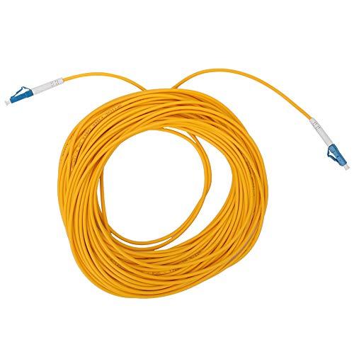 Cable de remiendo de fibra óptica, puente de cerámica de fibra óptica de transmisión de datos de fibra óptica de plástico y cerámica 20m