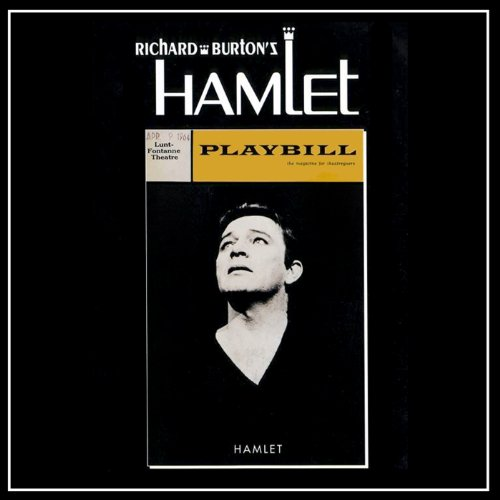 Richard Burton's Hamlet audiobook cover art