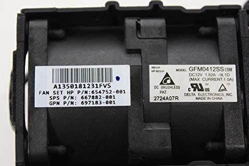HP 667882-001 Ventilator voor pc-behuizing, Koeler & Radiator Ventilator, radiator, Koelers (pc-behuizing Ventilator ProLiant DL360p Gen8)