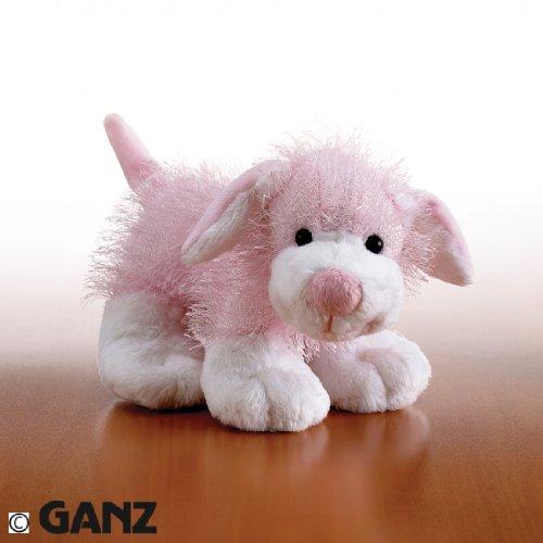 Webkinz Plush Stuffed Animal Pink and White Dog