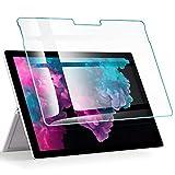ESR Panzerglas Bildschirmschutz Folie kompatibel mit Microsoft Surface Pro 6 / Pro 5 / Surface Pro 4, Premiu 9H Gehärtetes Glas Bildschirmschutzfolie - [Blasenfrei Kratzfest Kristallklar]