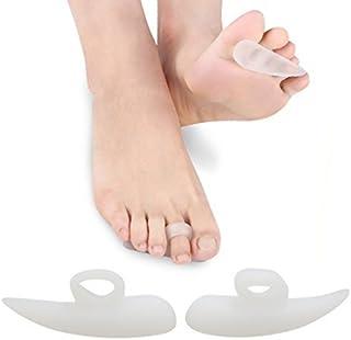 eDealMax silicón DE 1 par del dedo del Pie valgus juanete Corrector Separador Relax Camilla