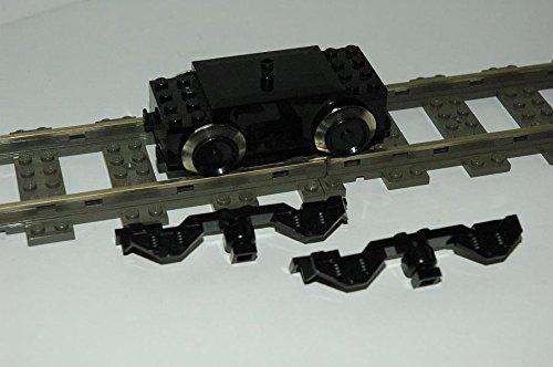 Gebrauchte Bausteine Lego 9V Eisenbahn Train Lok 9V Motor Seitenverkleidung Engine + Panels