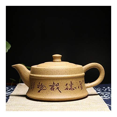 Teapot Tea Pot Teapot Famous Pure Hand-Tea cup Purple Clay Teapot Tea Virtuous TongLingUSL (Color : Yellow)