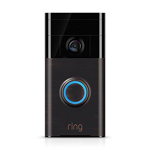 Ring Automotive - Videoportero Wi-Fi, Marrón, 88RG002FC500