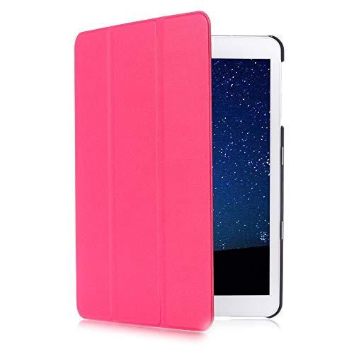 WOFALA Funda para Samsung Galaxy Tab S2 8.0 (ultrafina, ligera, con función de reposo y encendido automático), color rosa