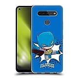 Head Case Designs Oficial Super Friends DC Comics Batman Niños pequeños 1 Carcasa de Gel de Silicona Compatible con LG K51S
