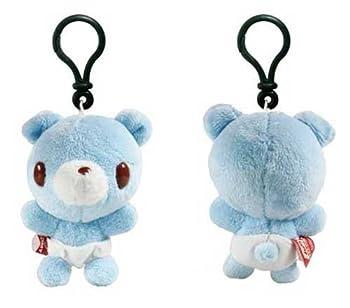 Baby Gloomy Bear 3  Clip-On Plush Blue