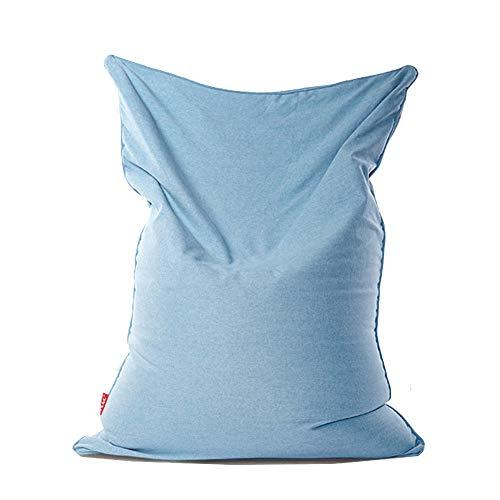 LDIW Zitzakhoes zonder vulling, reuzezitzak, sofa, beschermhoes, zitzakhoes 120x150cm blauw (light blue)