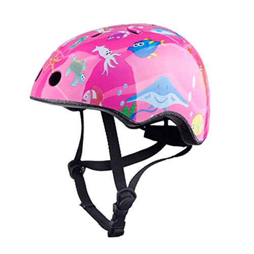 Kids Cycle/Bike Helmet, Casco de Ciclismo para Niños Ajustable y Resiste al...