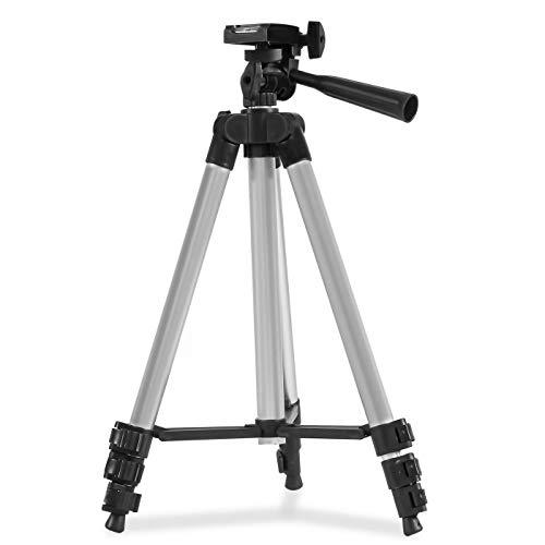 Tripé Universal de 1,20 mt com Suporte Para Celular Câmera com Bolsa em alumínio para foto e vídeo