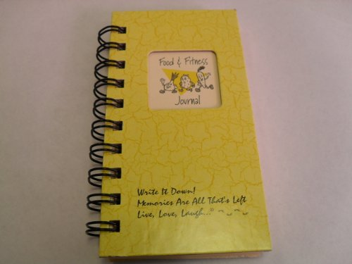 1 X Food & Fitness Journal - MINI Buttercup Hard Cover NEW TITLE!