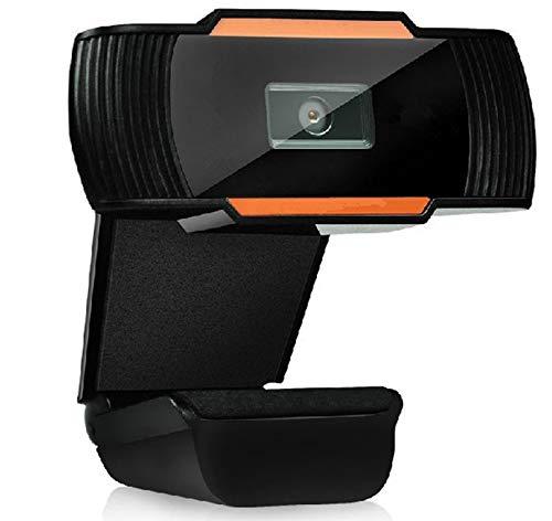 XIAOMEI Cámara Web Full HD 1080P con micrófono, computadora portátil PC Webcam de Escritorio USB 2.0 Webcam para videollamadas, Estudios, conferencias, grabación, Juegos con Clip Giratorio