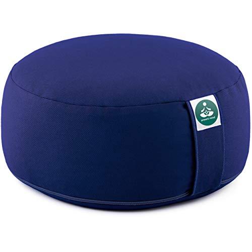 Present Mind Cuscino Meditazione Yoga Zafu,Altezza 16 cm,Rivestimento in Cotone Lavabile