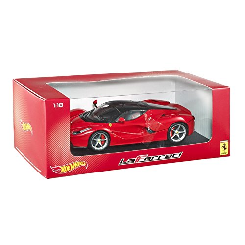 Hot Wheels - Coche a Escala Ferrari, 1:18 (BLY52)
