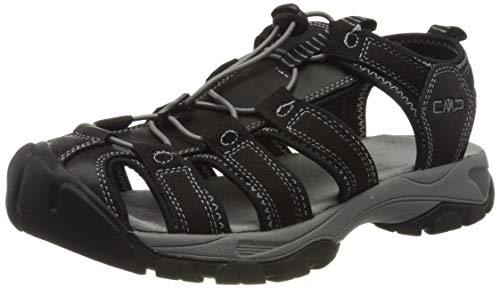 CMP – F.lli Campagnolo Sahiph Hiking Sandal, Sandalias de Senderismo Hombre, Color Negro Nero U901, 39 EU