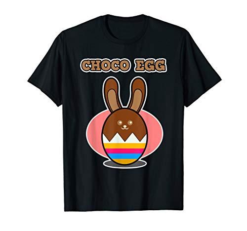 Oster-Schokolade Shirt für Damen und Herren - Choco Egg T-Shirt